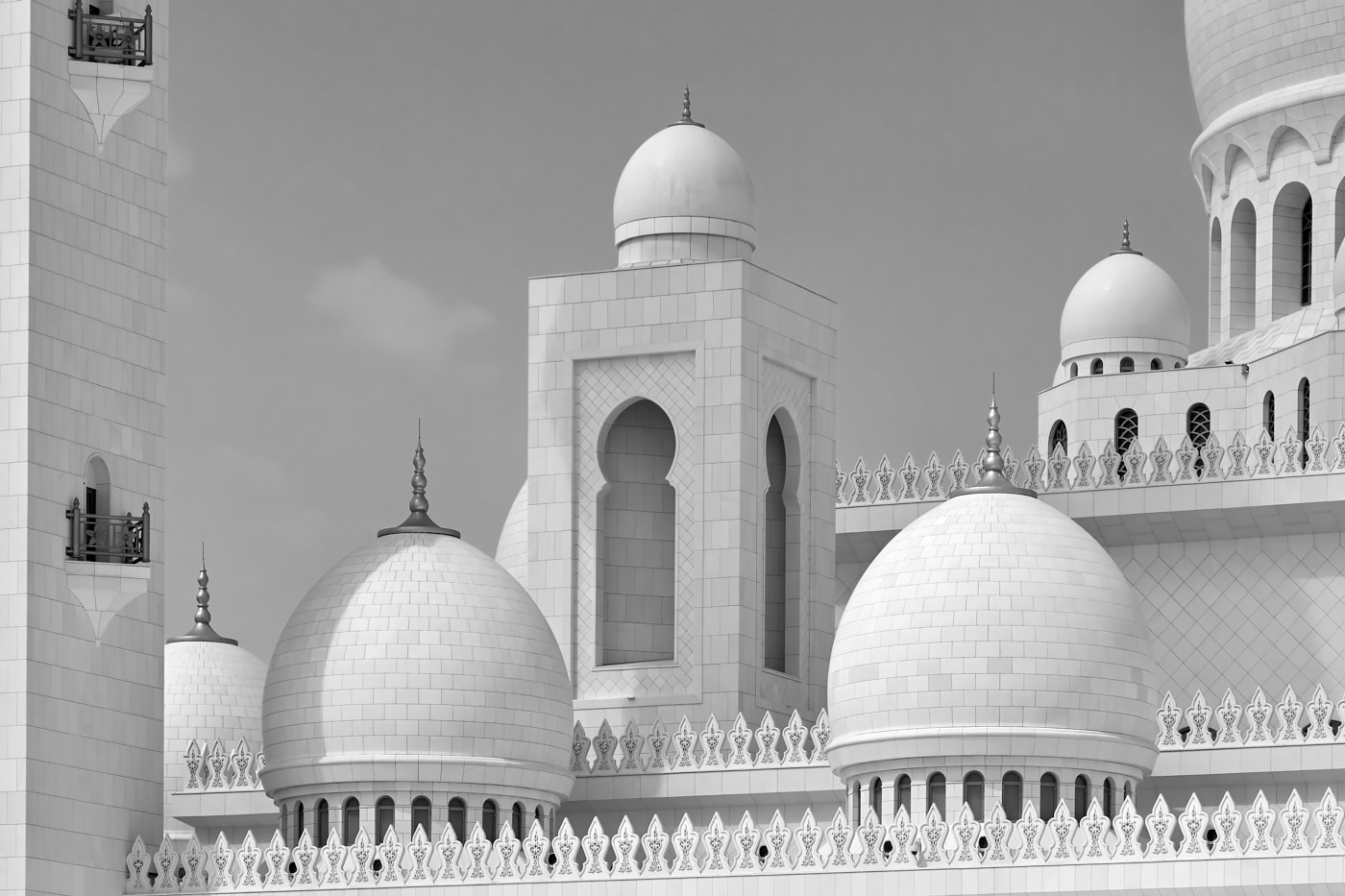Image: Sheikh Zayed Grand Mosque - Rooftop