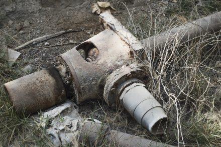 Old irrigation pump