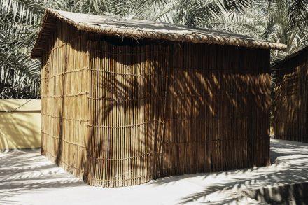 Image of a Barasti hut - Ras Al Khaimah - UAE