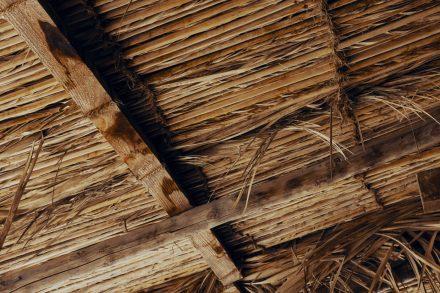 Barasti roof