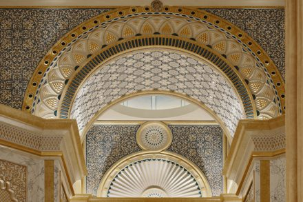 Image of Qasr Al Watan (Palace of the Nation) - Abu Dhabi - interior architectural detail