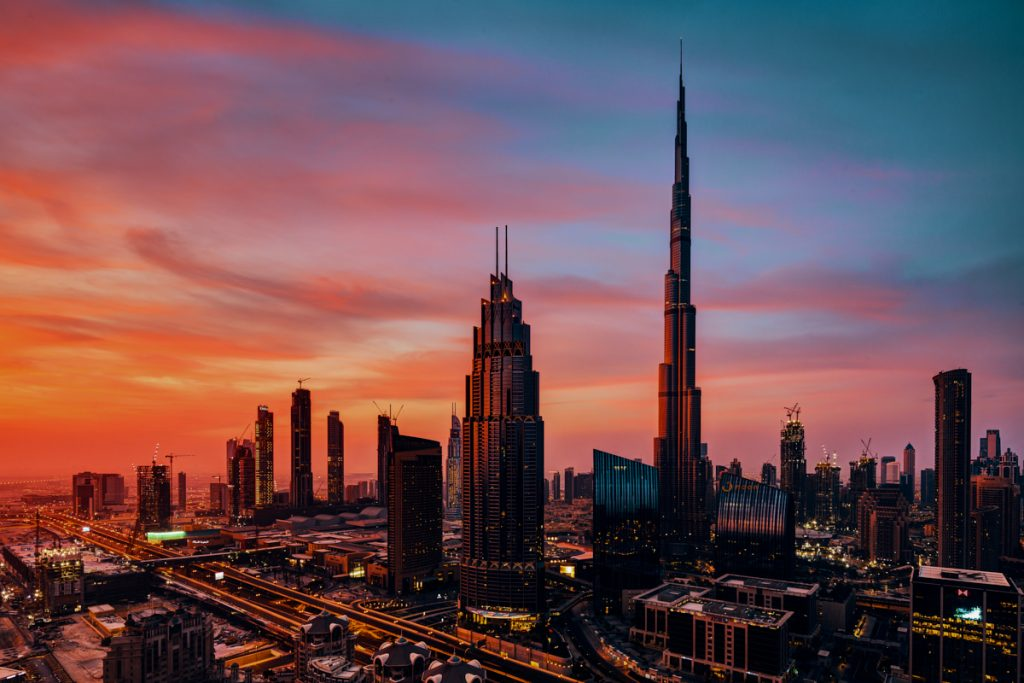 Photography and me - Dubai cityscape at dawn