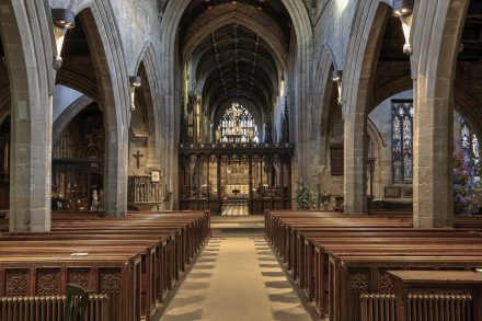 Image of the nave at St. Nicholas cathedral - Newcastle upon Tyne