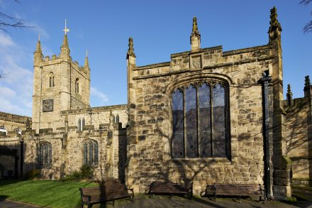 Image of the exterior of St. John The Baptist church - Newcastle upon Tyne - UK