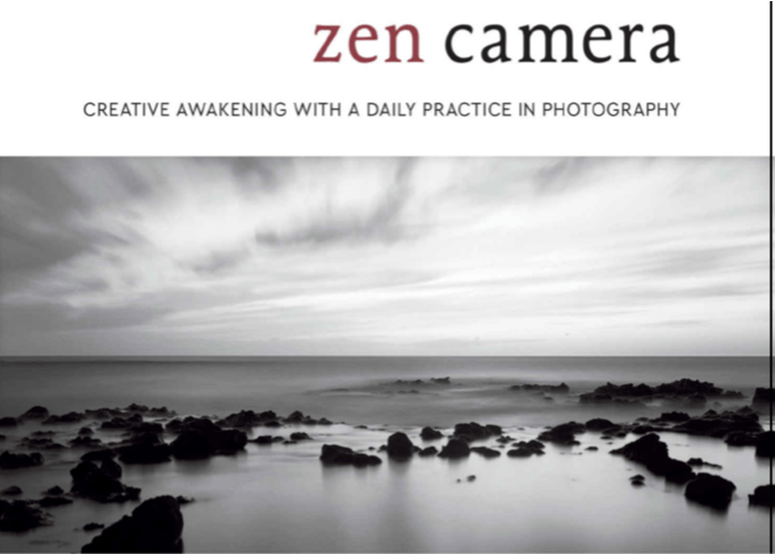 Image: Cover of David Ulrich's book Zen Camera