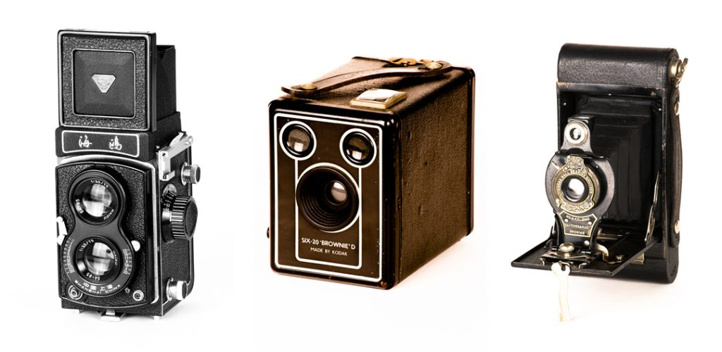 Image: Old cameras
