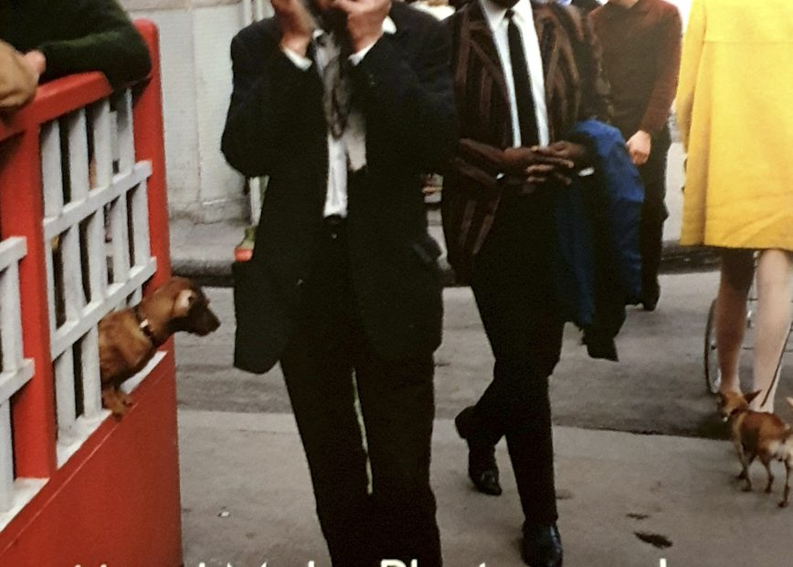 Image of book cover - Book review - Joel Meyerowitz - How I make photographs