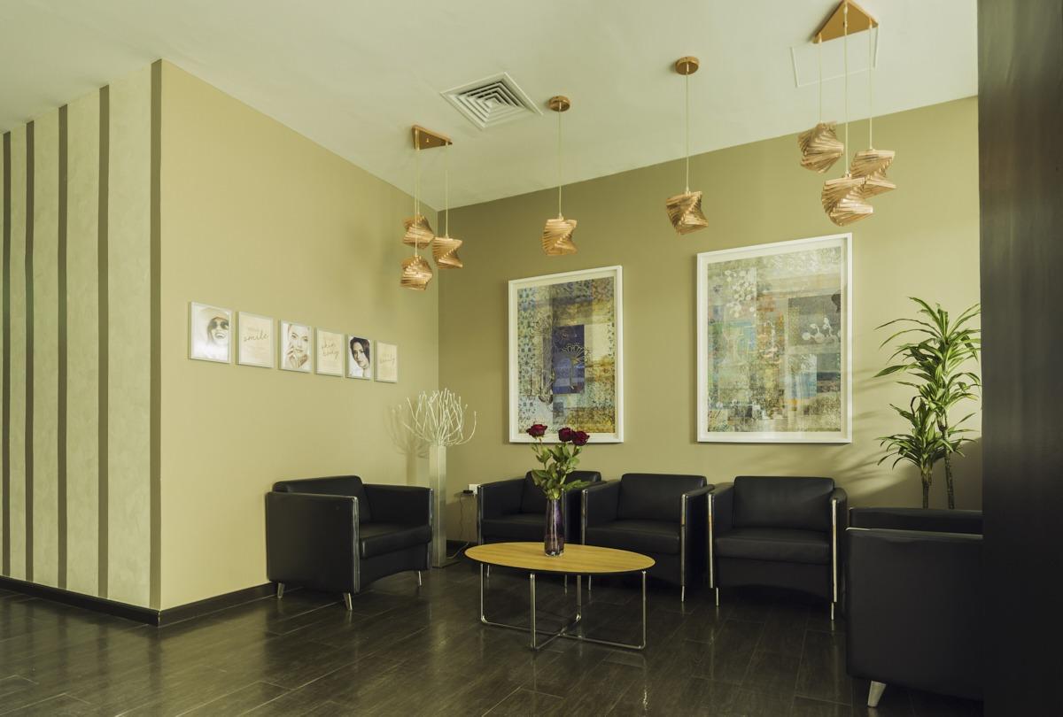 Image: Clinic reception area