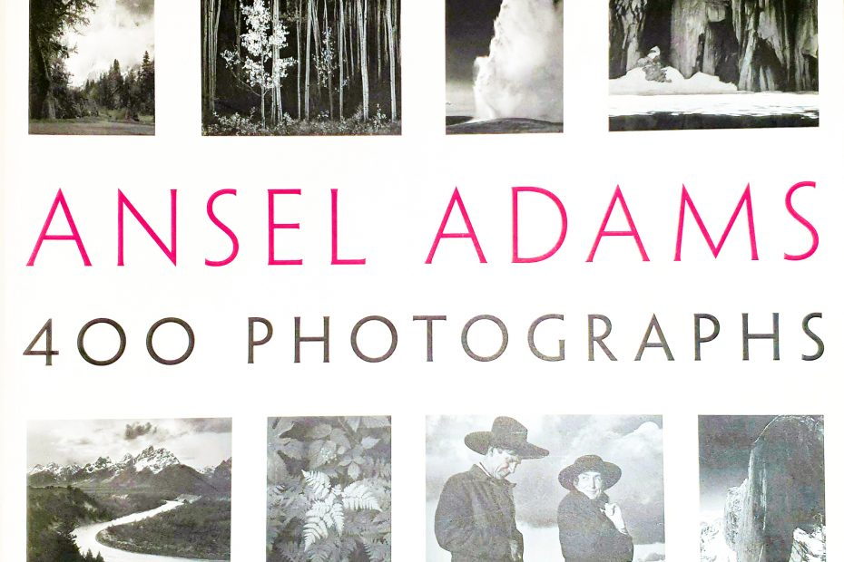 Cover image - Book review #6 - Ansel Adams - 400 photographs-