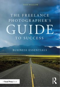 Book review #7: Todd Bigelow – The Freelance Photographer's Guide to Success