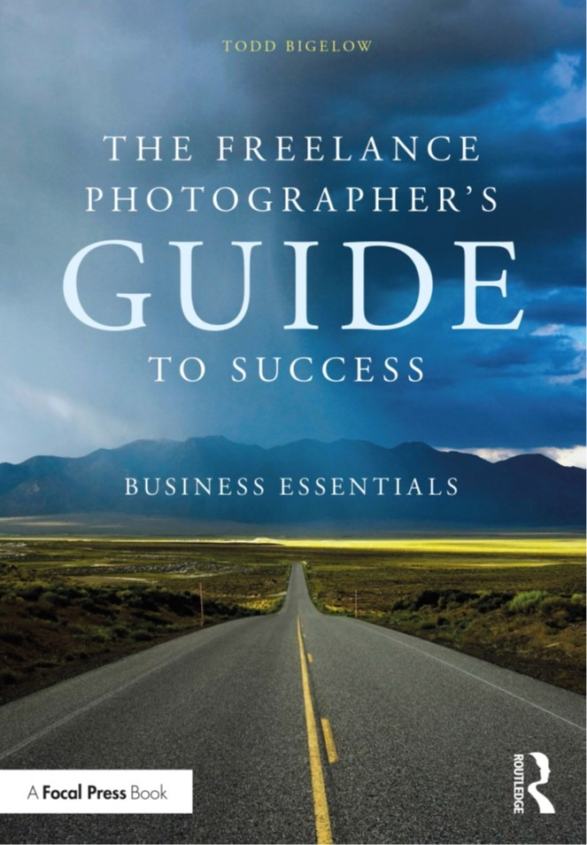 Image: Cover of The Freelance Photographer's Guide to Success by Todd Bigelow to illustrate book review
